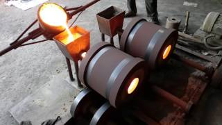 CENTRIFUGAL CASTING MANUFACTURING PROCESS