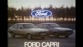 Capri Mk3 cinema ad - 1979