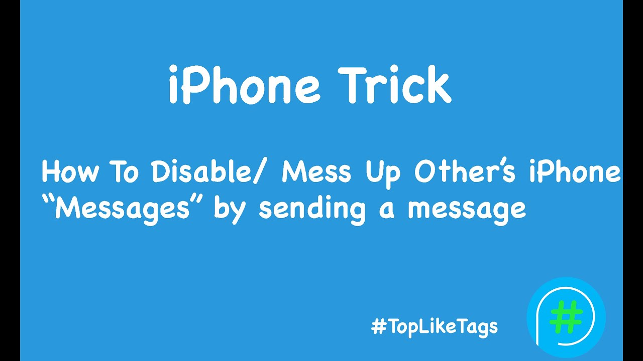 how to stop text messages on iphone iphone trick how to disable mess up other s iphone app 20334