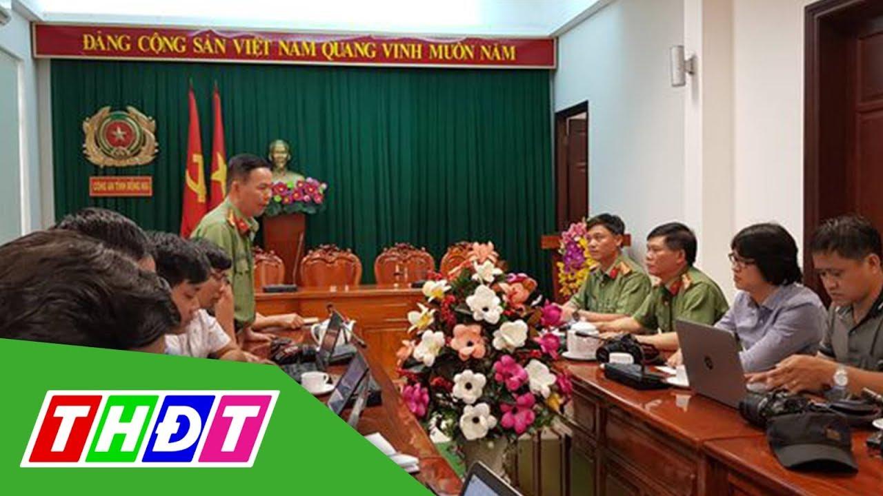 Công an Đồng Nai họp báo về vụ CSGT bảo kê xe quá tải | THDT