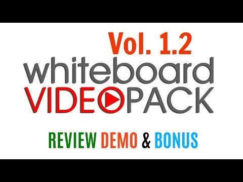 DFY Whiteboard Video Pack Vol 1.2 Review Demo Bonus - Sell This For $299, $499 Or More