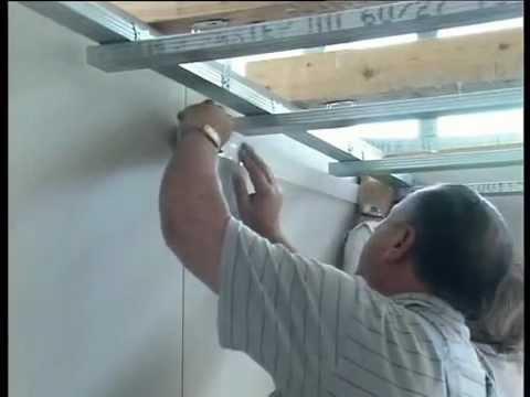 видео: Подвесные потолки из гипсокартона (remstroyekb.ru)