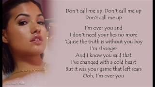 Mabel - Don't Call Me Up | Lyrics Songs Video