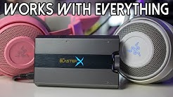 The ONLY Sound Card you need in 2020! Creative Sound BlasterX G6 Review