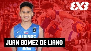 Juan Gomez de Liano - 18yrs & the 11th Ranked player in the Philippines - Mixtape Monday - FIBA 3x3