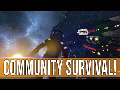 Space Engineers Survival - Community Game Night!