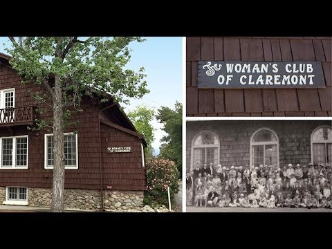 Claremont Woman's Club: Helping for 100 years