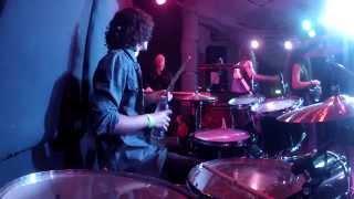 "Josh Gallagher (19) performing Whitesnake's ""Here I Go Again"" from ..."