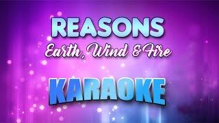 Earth, Wind & Fire - Reasons (Karaoke version with Lyrics)