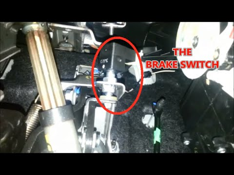 brake switch replace how to  YouTube