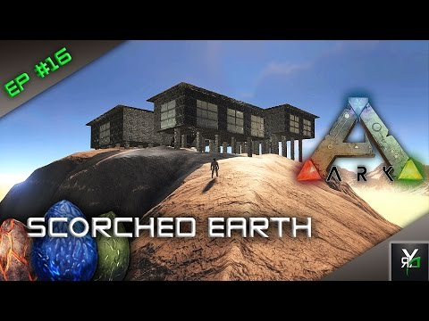 MOUNTAIN MANSION/TEMPLE?!- Scorched Earth Server Gameplay