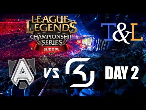 Alliance vs SK Gaming - LCS EU Summer split 2014 W2D2 - ALL vs SK G1