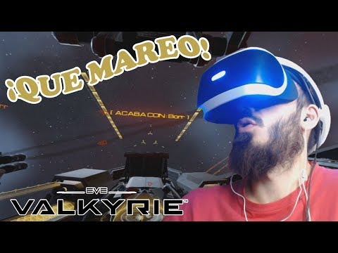 PlayStation VR Demo | Eve Valkyrie | VAYA MAREO ESPACIAL