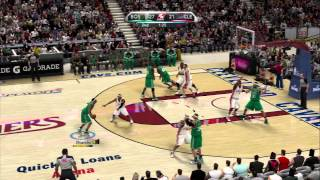 NBA 2K10 - Celtics vs Cavs - 2010 Playoff Rosters