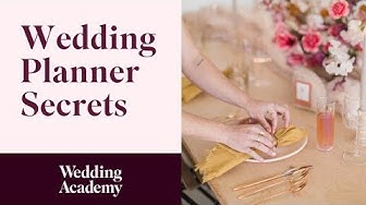 Become a Wedding Planner Online  | Start Your New Career Today