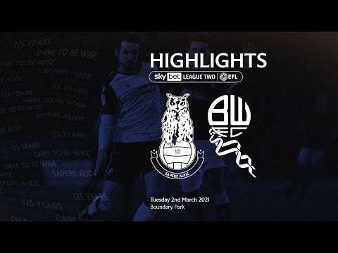 Oldham Bolton Goals And Highlights