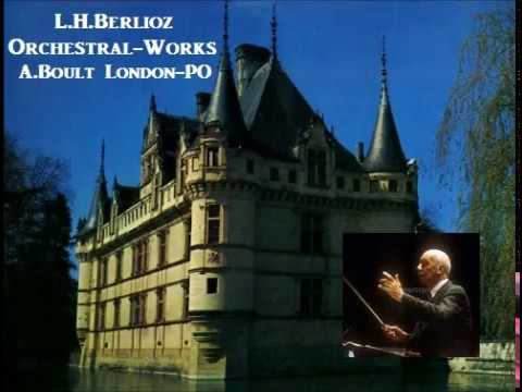 L.H.Berlioz Orchestral-Works [ A.Boult London-PO ] (1956)