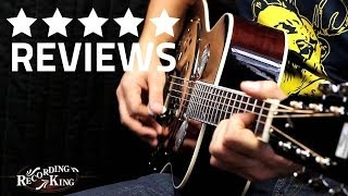 Recording King RR 50VS Resonator Guitar - GUITAR WEEK Season 3 Episode 2