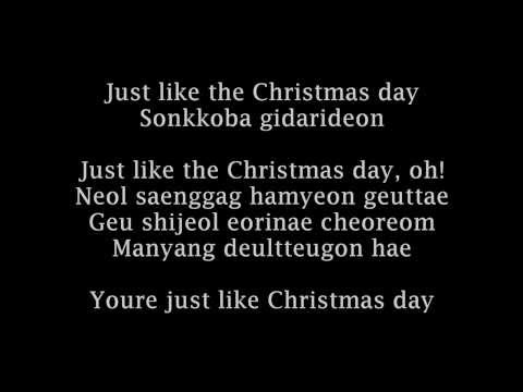 EXO - Christmas day Korean Version Romanized lyrics