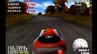 [Dreamcast S-Video] test drive V-rally 브이랠리