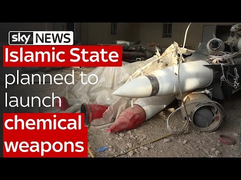Islamic State planned to launch chemical weapons