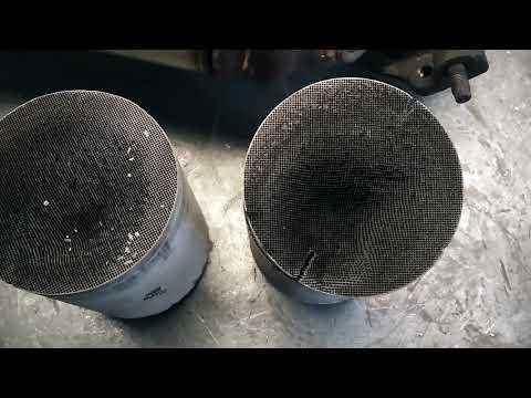 Удаление катализаторов Toyota Avensis. Замена на пламегасители Tofris в Тольятти