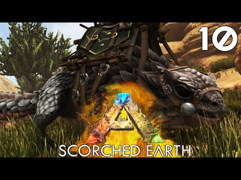 🔥 ARK Survival Evolved (Scorched Earth DLC) [#10] THORNY DRAGON!