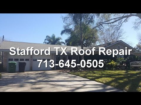 Stafford TX Roof Repair