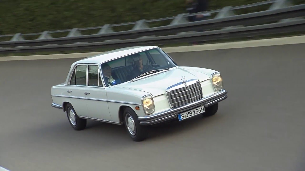 mercedes benz 280 e strich acht w 114 1972 youtube. Black Bedroom Furniture Sets. Home Design Ideas