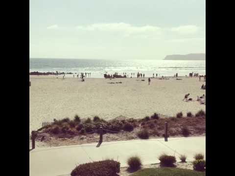 Coronado beach view ( Hotel Del) San Diego