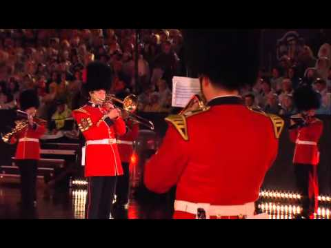 Coldstream Guards Band Display - Basel Tattoo 2007