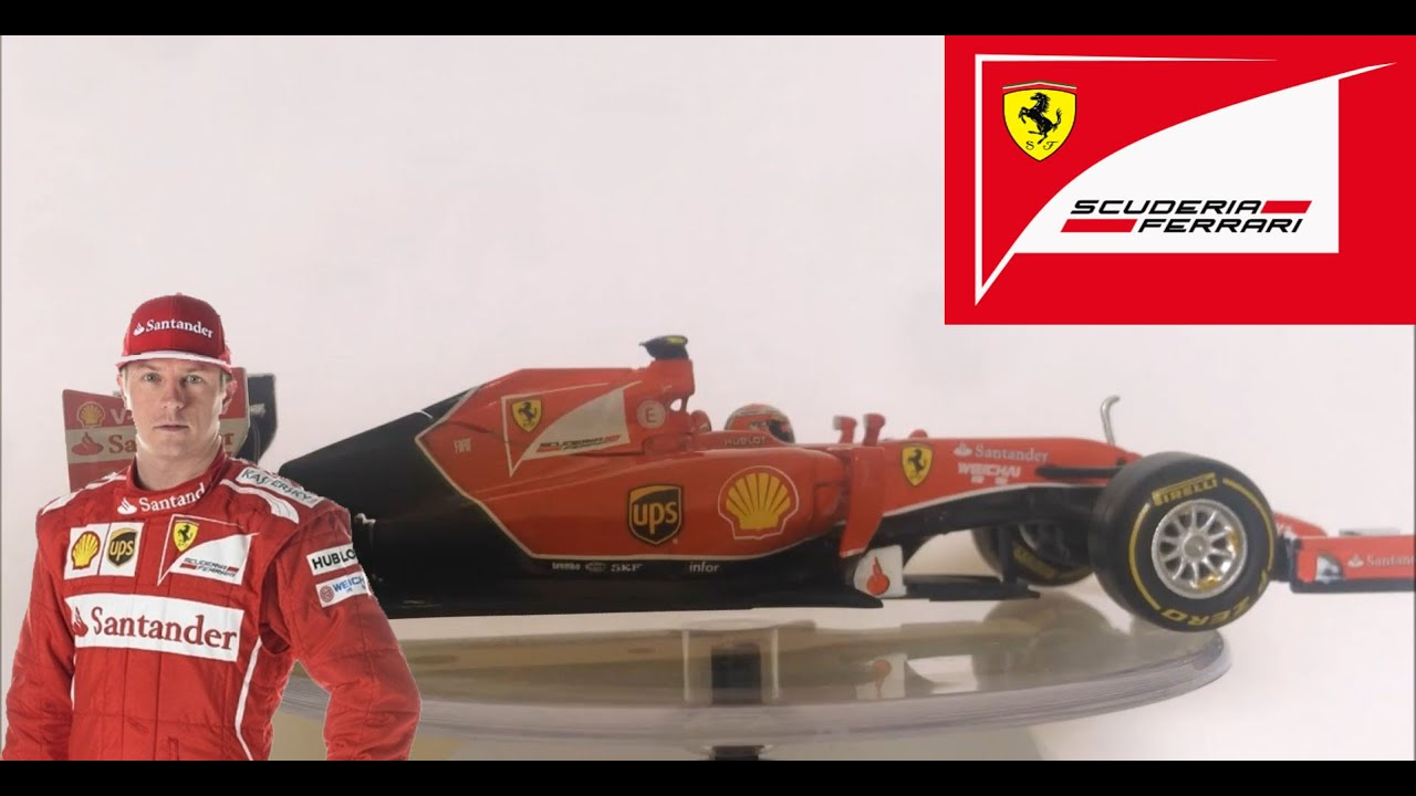 Elite Ferrari F1 F2014 Kimi Raikkonen 1//43 Diecast Car Model by Hotwheels
