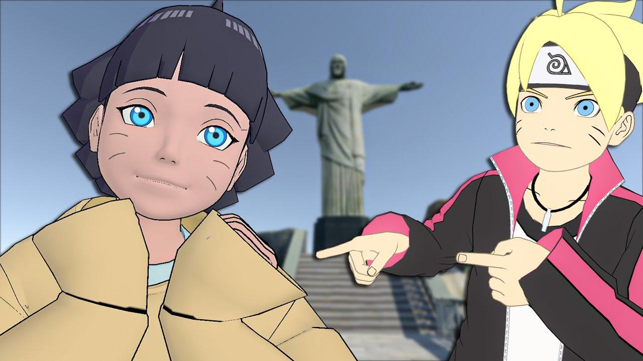 HIMAWARI E BORUTO VÃO PARA O BRASIL - BORUTO (VR)
