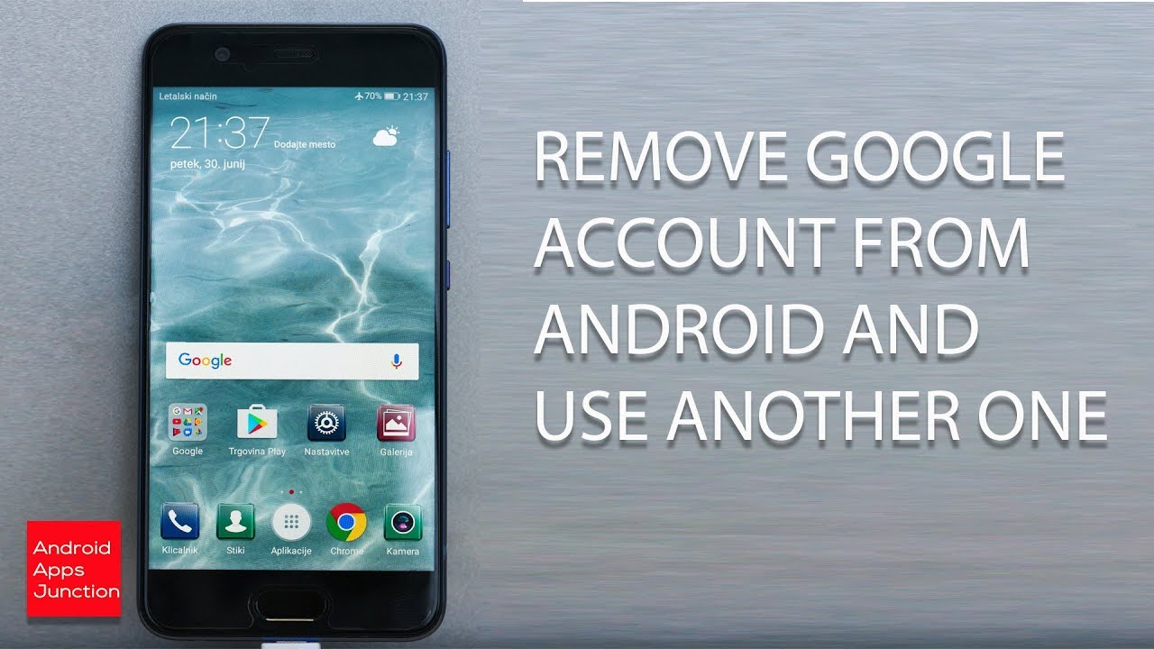 How To Remove Google Account From Android 70 How to remove