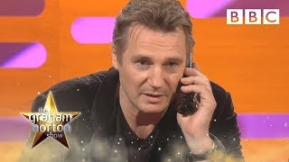 Liam Neeson's Threatening Quote From Taken The Graham Norton Show Series 10 Episode 12 Bbc One