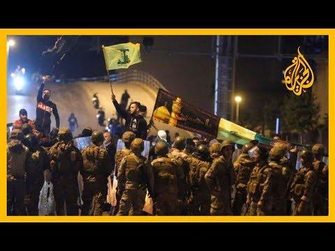 ???? مراسل الجزيرة: قوات مكافحة الشغب اللبنانية تفض تجمعاً للحراك الشعبي في محيط البرلمان  - 19:59-2019 / 12 / 14