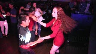 Baile Sonidero-Cumbia Linda Sampuesana-Asi la Bailan -Filmaciones Contreras