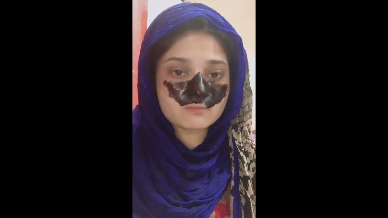 Olive black mask honest reviews lets go and see how much its work.||Haya Malik|| - YouTube