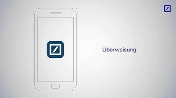 """So überweisen Sie mit der """"Deutsche Bank Mobile""""-App"""