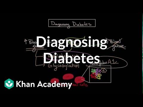 Diagnosing diabetes | Endocrine system diseases | NCLEX-RN | Khan Academy