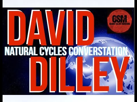 David Dilley on  Natural Climate Cycles w Grand Solar Minimum Channel
