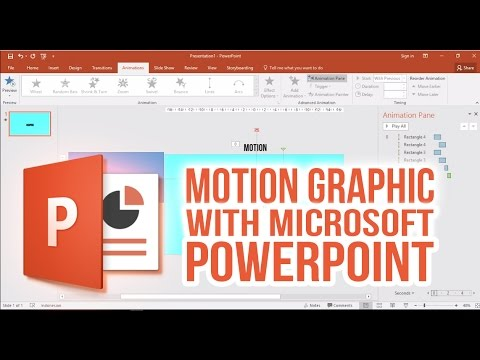 How to make Motion Graphic with Microsoft PowerPoint [INDONE