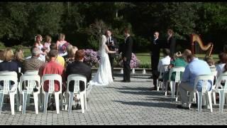 Wedding Ceremony at Leu Gardens Winter Park FL