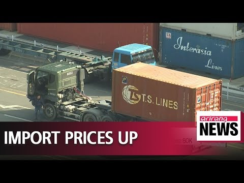 Rising global oil prices push up South Korea's import prices in April