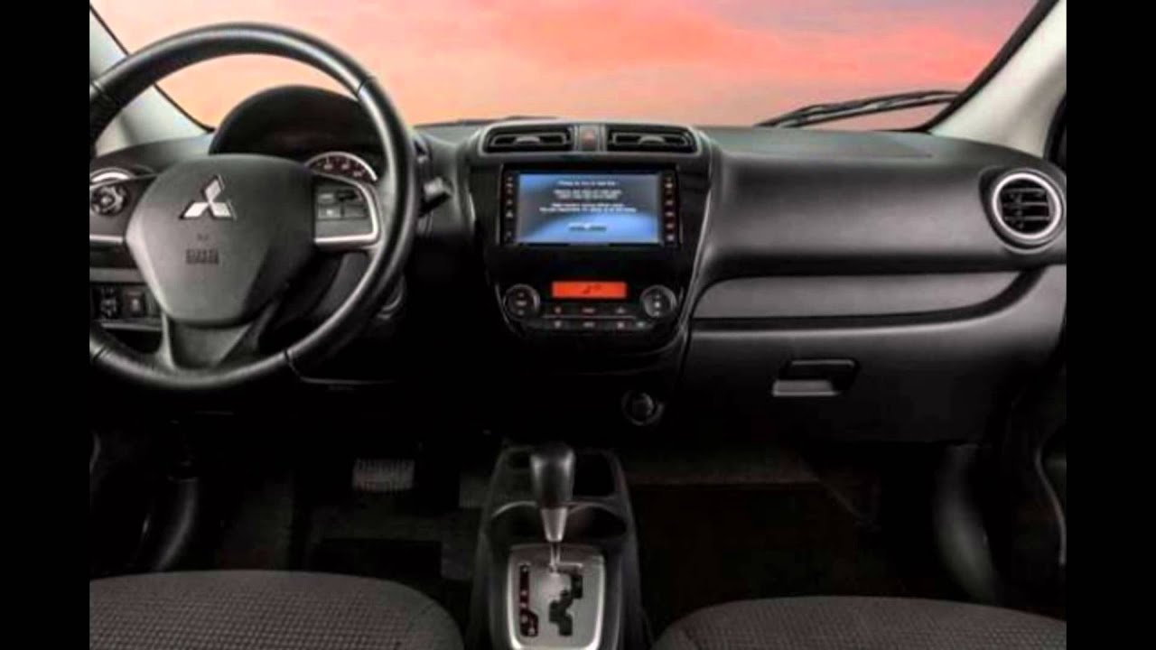 2016 Mitsubishi Mirage Sedan Interior Youtube