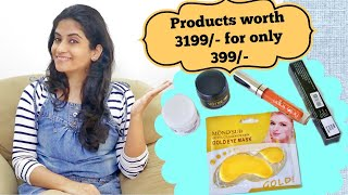 Get Premium Beauty & SkinCare Products Worth Rs 3199/- for Rs 399/- only