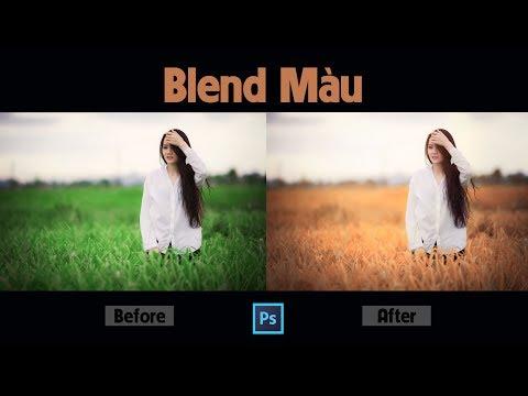 Hướng Dẫn Blend Màu Mùa Thu Trong Photoshop   Tự Học Photoshop