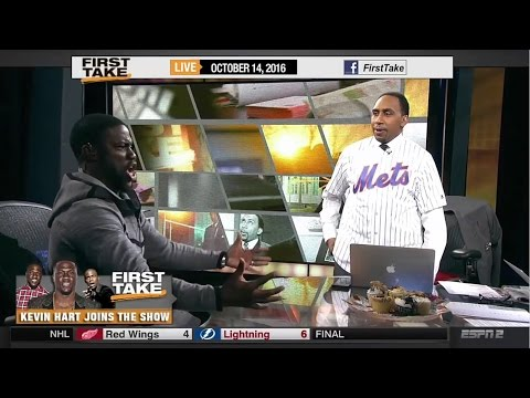 Kevin Hart: What Now? On First Take Trolls Stephen A. Smith! (FULL)