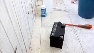 Como arreglar una batería totalmente desgastada