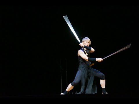 剣舞 kenbai - Samurai Act - Sword Dance Juggling